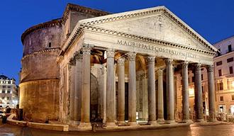 El uso de columnas y dintel 509 A.C.