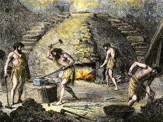 Ingeniería metalúrgica y mecánica 4000 A.C