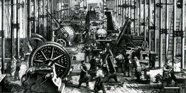 Primera revolución industrial 1750