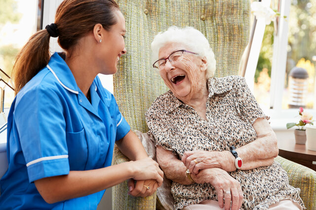 The first hospice program was created in the United States