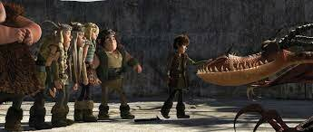 6. Hiccup is great at dragon fighter training.