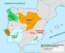 Inicio y final del Paleolítico en la Península Ibérica.