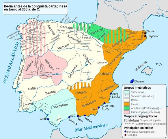 Inicio y final de la Edad Antigua en la Península Ibérica