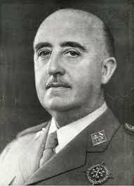 Military dictatorship of Francisco Franco in Spain.