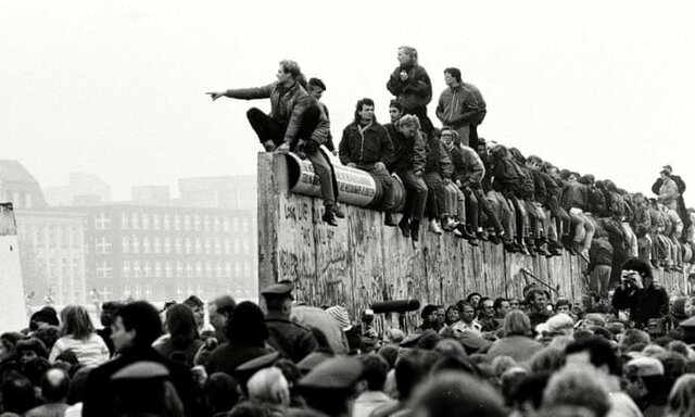 Fall of the Berlin Wall.