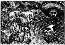 Restitución y dotación de tierras y agua