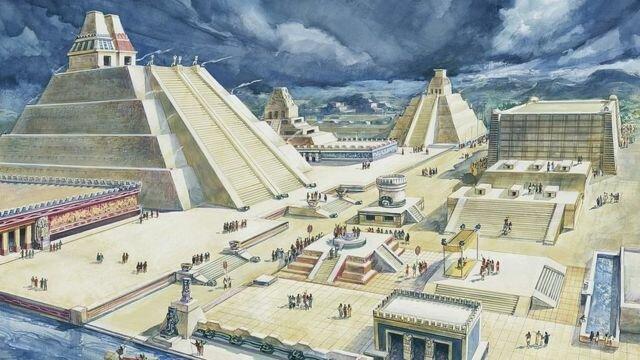 Aztecas (Fundación de Tenochtitlan)