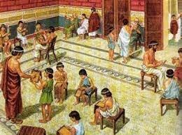 La antigua escuela griega