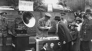 radio durante la Primera Guerra Mundial,