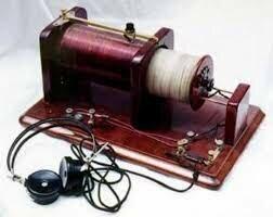 El primer aparato de radio