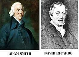 Mercantilismo y liberalismo económicos del XVIII