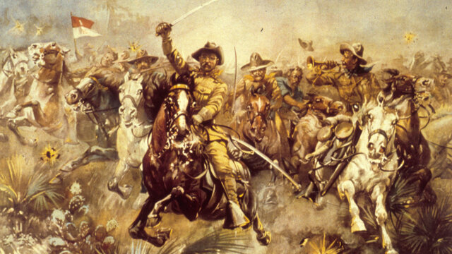 TR and the Rough Riders