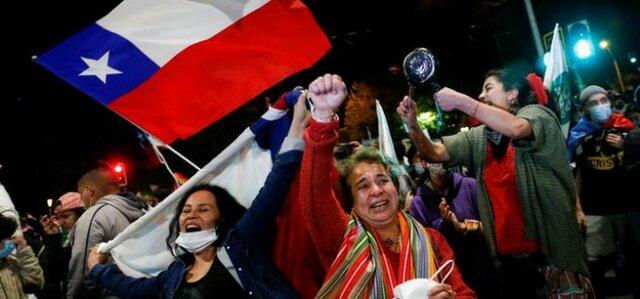 La transición democrática en Chile.