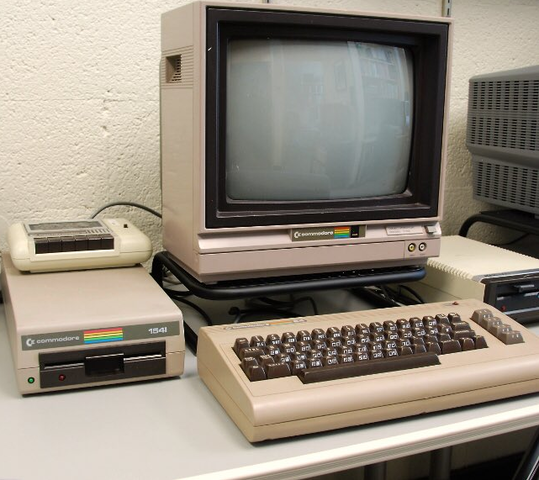 The introduction of commodore 64.