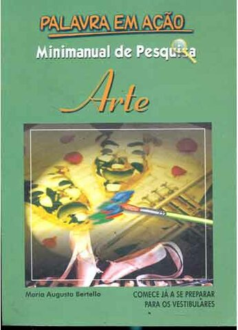 Minimanual de pesquisa Arte