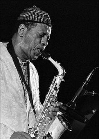 Ornette Coleman playing a major role in Free Jazz.