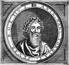 Ancio Manlio Torcuato Severino Boecio; Roma, h. 480-id., 524)