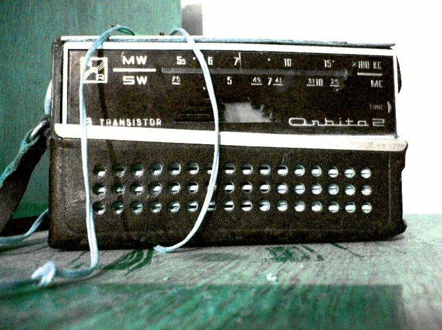 Las radios con transistores