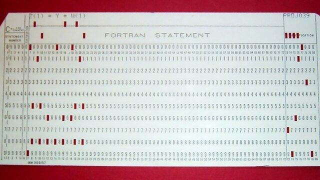 Primeras maquinas en depender de un lenguaje de programación