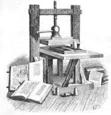 El nacimiento de la  imprenta
