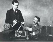 La primera señal telegráfica inalámbrica