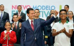 presentación del modelo educativo 2018-2019 por el presidente Lic. Enrique Peña Nieto