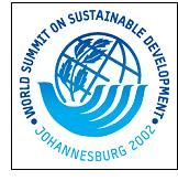 Declaración de Johannesburgo sobre Desarrollo Sostenible