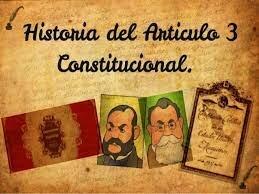 Se modifico el articulo 3° constitucional