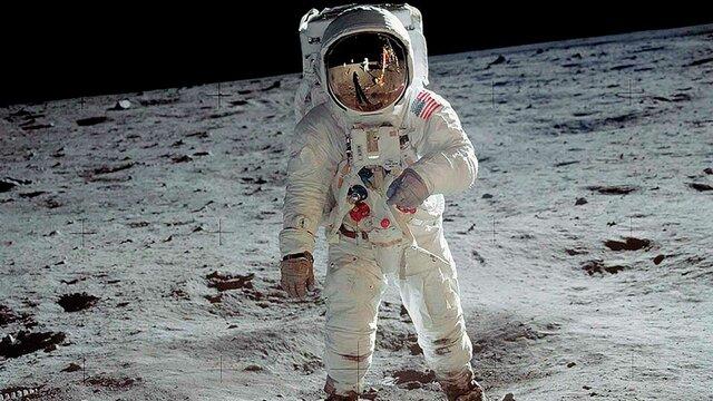 El humano llega a la luna