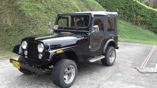 Jeep del servicio postal