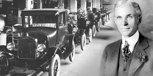 Henry Ford-Sistemas de producción en líneas