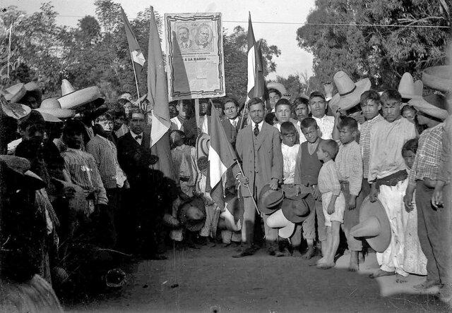 Inicio de la revolución maderista 1910