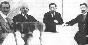 El gobierno porfirista y los revolucionarios firman el Pacto de Ciudad Juárez 1911
