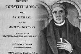 Se publica el Decreto Constitucional para la Libertad de la América Mexicana