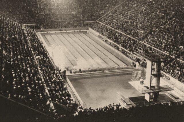 Natación en los primero juego modernos Atenas