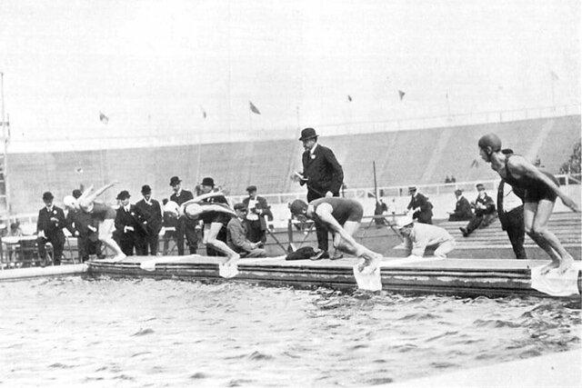 Primeras competiciones femeninas en J.O. 1912