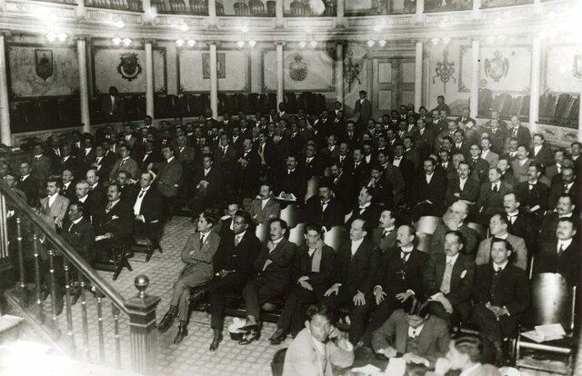 Inauguración de las sesiones del Constituyente 1916