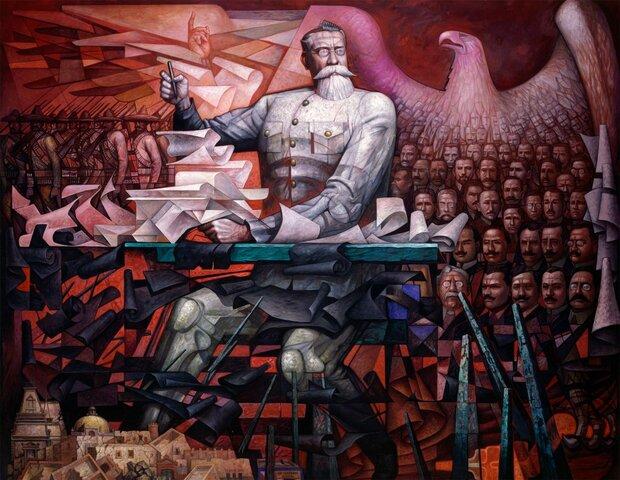 Venustiano Carranza inicia su presidencia constitucional. Entra en vigor la Constitución 1917