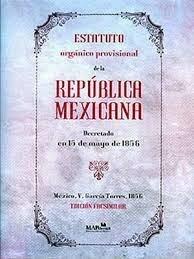 Estatuto Orgánico Provisional de la República Mexicana