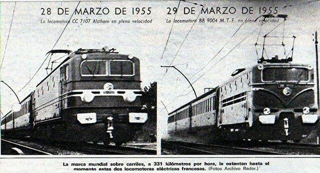 Los primeros trenes eléctricos