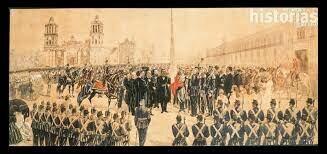 El presidente Benito Juárez García se vio obligado a trasladar el gobierno al norte de país.