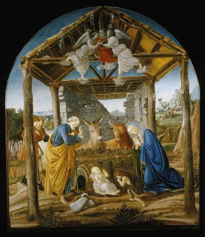 Nacimiento de jesus año 1