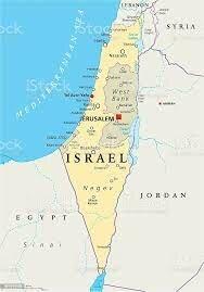 características de Israel 1190 a.c