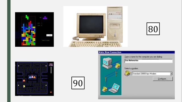 Década de los 90 - influencia de la tecnología