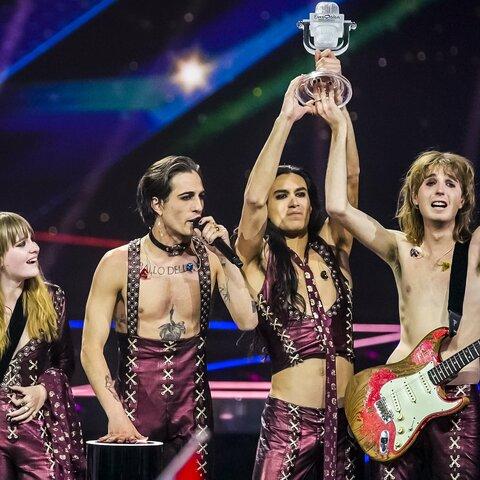 Maneskin all'Eurovision