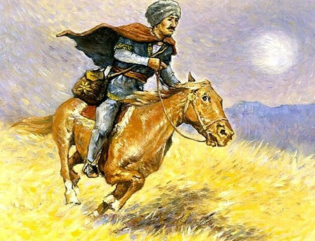 Гонцы(пешие, конные)