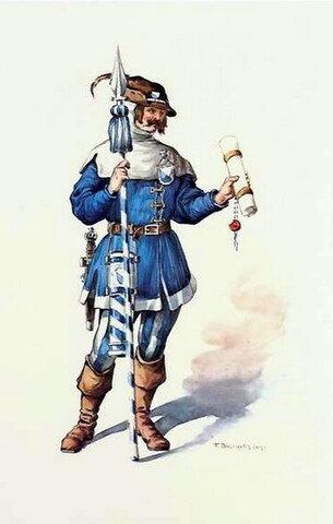 Почтовые отделения во Франции в 15 веке