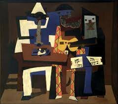 Picasso begins a new pictorial style, Cubism.