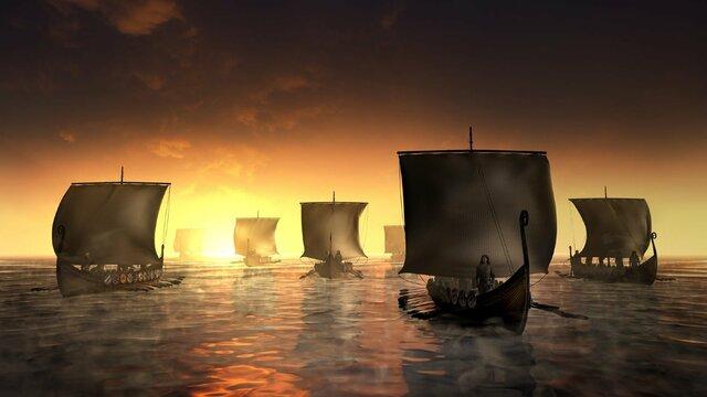 Vikings raids Sevilla-Cordoba