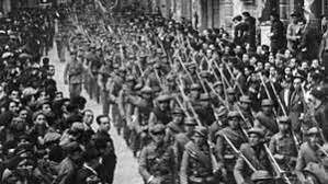 (1936-1939) Civil war in Spain.